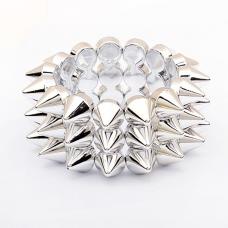 2014 Hot White Rivet Bangle Bracelet
