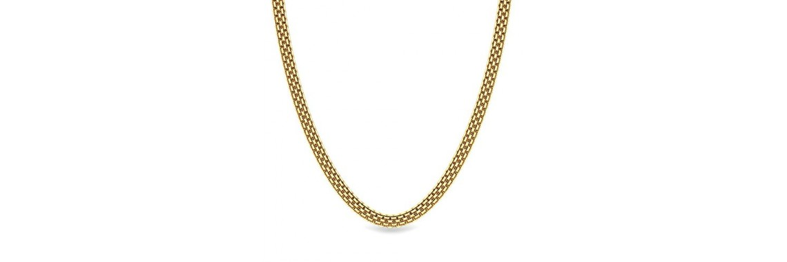 Candere By Kalyan Jewellers  22k Yellow Gold Necklace