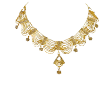 GOLD necklace Ref:APZ760049B